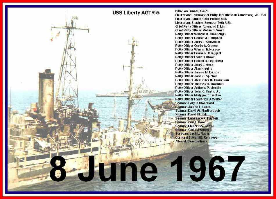 Image result for senator mccain cover up uss liberty